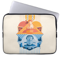Toy Story | Woody & Buzz Reversible Graphic Laptop Sleeve