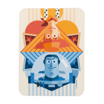 Toy Story | Woody & Buzz Reversible Graphic Magnet
