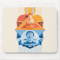 Toy Story | Woody & Buzz Reversible Graphic Mouse Pad