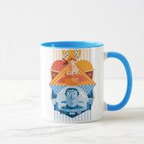 Toy Story | Woody & Buzz Reversible Graphic Mug