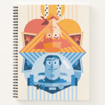 Toy Story | Woody & Buzz Reversible Graphic Notebook
