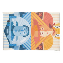 Toy Story | Woody & Buzz Reversible Graphic Pillow Case