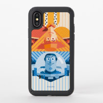 Toy Story | Woody & Buzz Reversible Graphic Speck iPhone X Case