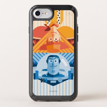 Toy Story   Woody & Buzz Reversible Graphic Speck iPhone Case