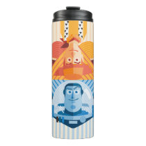 Toy Story | Woody & Buzz Reversible Graphic Thermal Tumbler