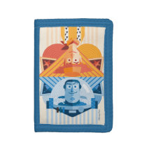 Toy Story | Woody & Buzz Reversible Graphic Trifold Wallet