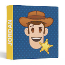 Toy Story | Woody Emoji 3 Ring Binder