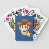 Toy Story | Woody Emoji Bicycle Playing Cards