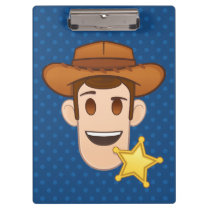 Toy Story | Woody Emoji Clipboard
