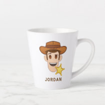 Toy Story | Woody Emoji Latte Mug