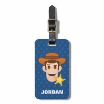 Toy Story | Woody Emoji Luggage Tag