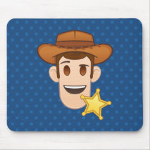 Toy Story | Woody Emoji Mouse Pad
