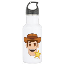 Toy Story | Woody Emoji Stainless Steel Water Bottle