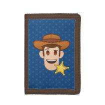 Toy Story | Woody Emoji Tri-fold Wallet