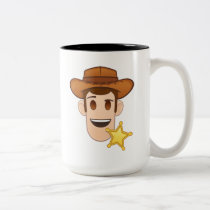 Toy Story | Woody Emoji Two-Tone Coffee Mug