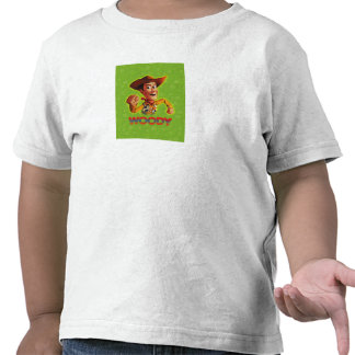 Toy Story Woody que sacude el puño Camiseta