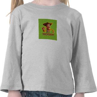 Toy Story Woody que sacude el puño Camisetas