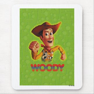 Toy Story Woody que sacude el puño Mousepad