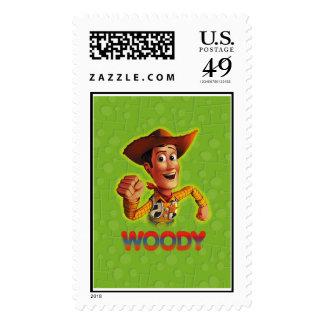 Toy Story Woody que sacude el puño Sellos