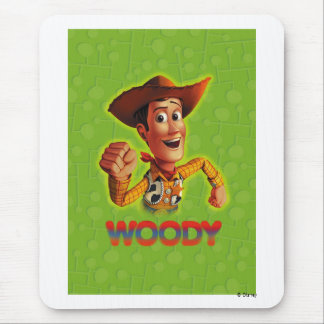 Toy Story Woody shaking fist Mouse Pad