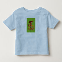 Toy Story Woody shaking fist Toddler T-shirt