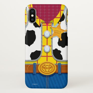 Toy Story   Woody's Sheriff Outfit iPhone X Case