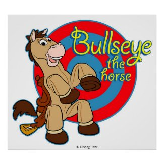 Toy Story's Bullseye zazzle_print