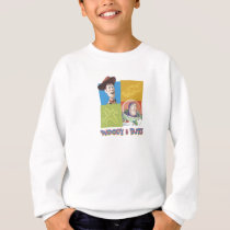Toy Story's Buzz Lightlear and Woody Logo Sweatshirt