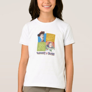 Toy Story's Buzz Lightlear and Woody Logo T-Shirt
