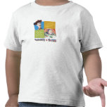 Toy Story's Buzz Lightlear and Woody Logo Tshirt