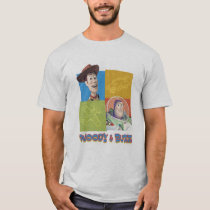 Toy Story's Buzz Lightyear and Woody Logo T-Shirt