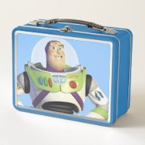 Toy Story's Buzz Lightyear Metal Lunch Box