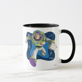 Toy Story's Buzz Lightyear running Mug