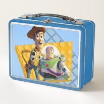 Toy Story's Buzz & Woody Metal Lunch Box