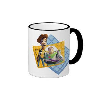 Toy Story's Buzz & Woody  Ringer Mug