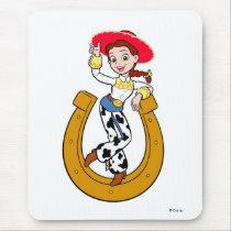 Toy Story's Jesse on Horseshoe Mouse Pad