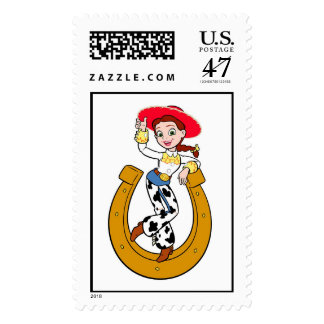 Toy Story's Jesse on Horseshoe Postage