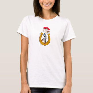 Toy Story's Jesse on Horseshoe T-Shirt