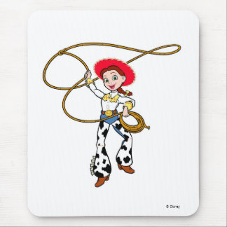 Toy Story's Jesse with Lassoo Mouse Pad