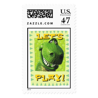"Toy Story's ""Let's Play!"" Design Postage"
