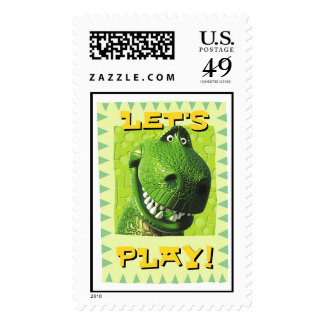 """Toy Story's """"Let's Play!"""" Design Stamps"""