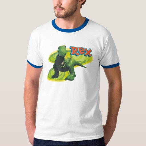 Toy Story's Rex standing with a smiling face. T-Shirt | Zazzle