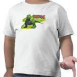 Toy Story's Rex standing with a smiling face. Tshirts