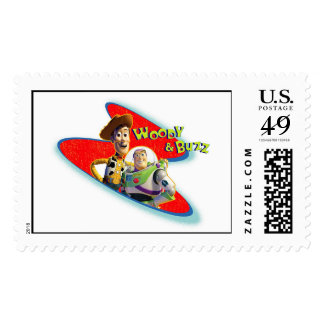 Toy Story's Woody and Buzz Postage Stamp