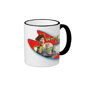 Toy Story's Woody and Buzz Ringer Mug