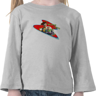 Toy Story's Woody and Buzz T-shirts
