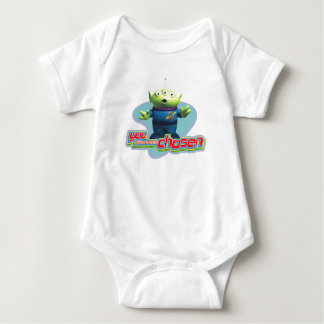 """Toy Story's """"You have been chosen"""" Alien Design Baby Bodysuit"""