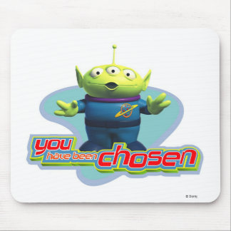 "Toy Story's ""You have been chosen"" Alien Design Mouse Pad"