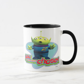 "Toy Story's ""You have been chosen"" Alien Design Mug"