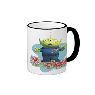 """Toy Story's """"You have been chosen"""" Alien Design Ringer Mug"""
